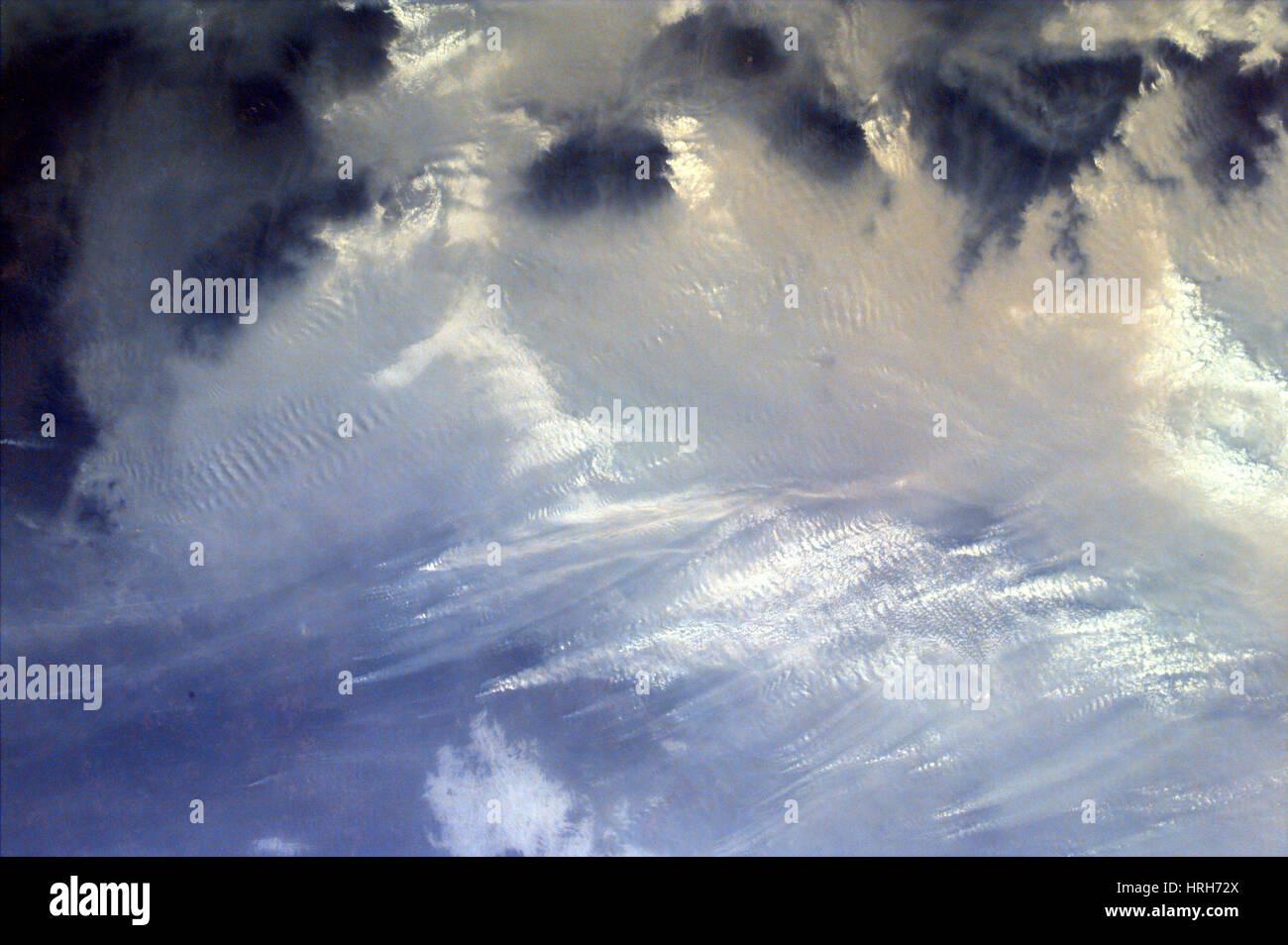 Sumatra, fuego y humo, KidSat Imagen, 1997 Imagen De Stock