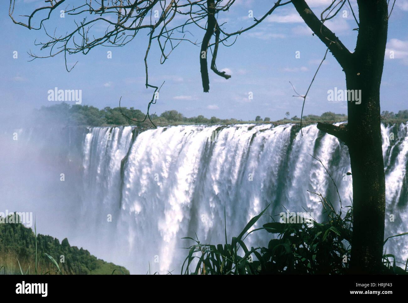 Cataratas Victoria Imagen De Stock