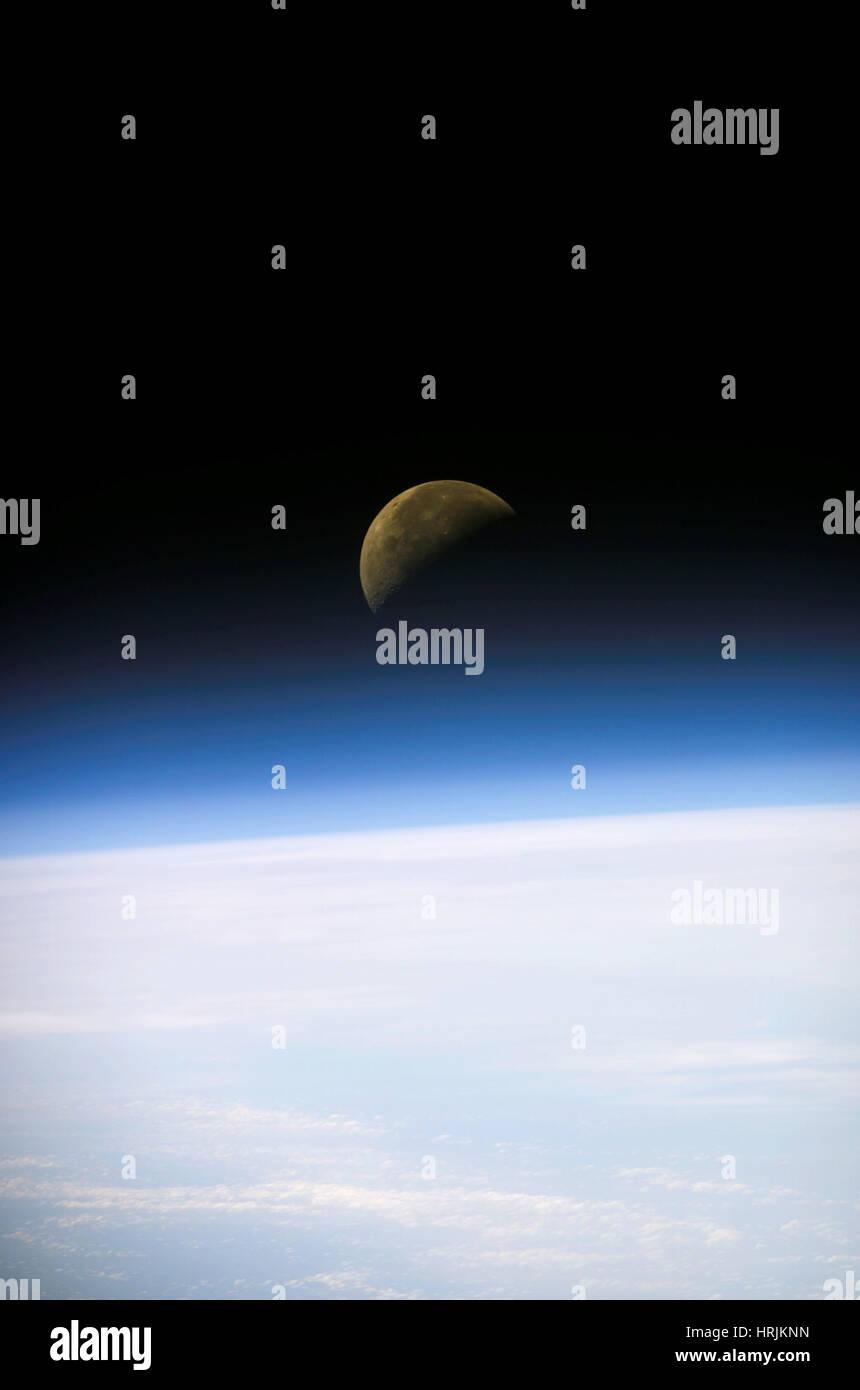 Luna, la última misión del Columbia, 2003 Imagen De Stock