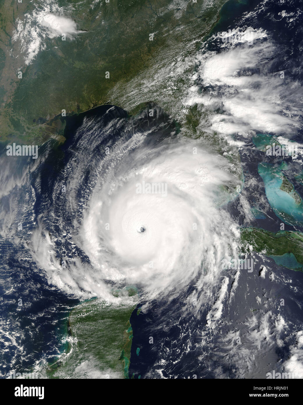 El Huracán Rita, MODIS Imagen, 2005 Imagen De Stock