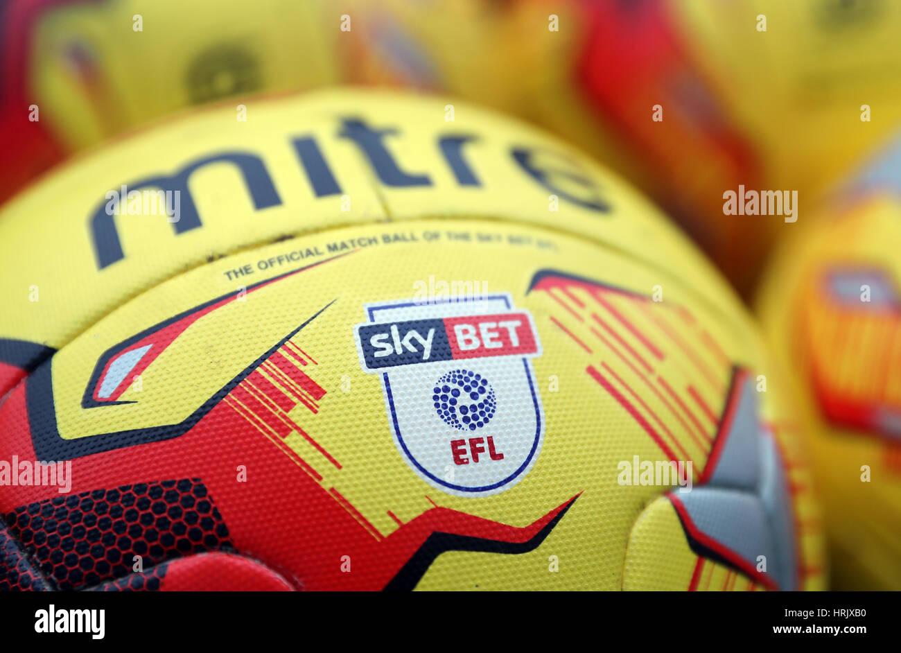 Vista del cielo Detaield apuesta de la Liga de Fútbol inglesa en el  logotipo oficial de 3cdbd786e5e38