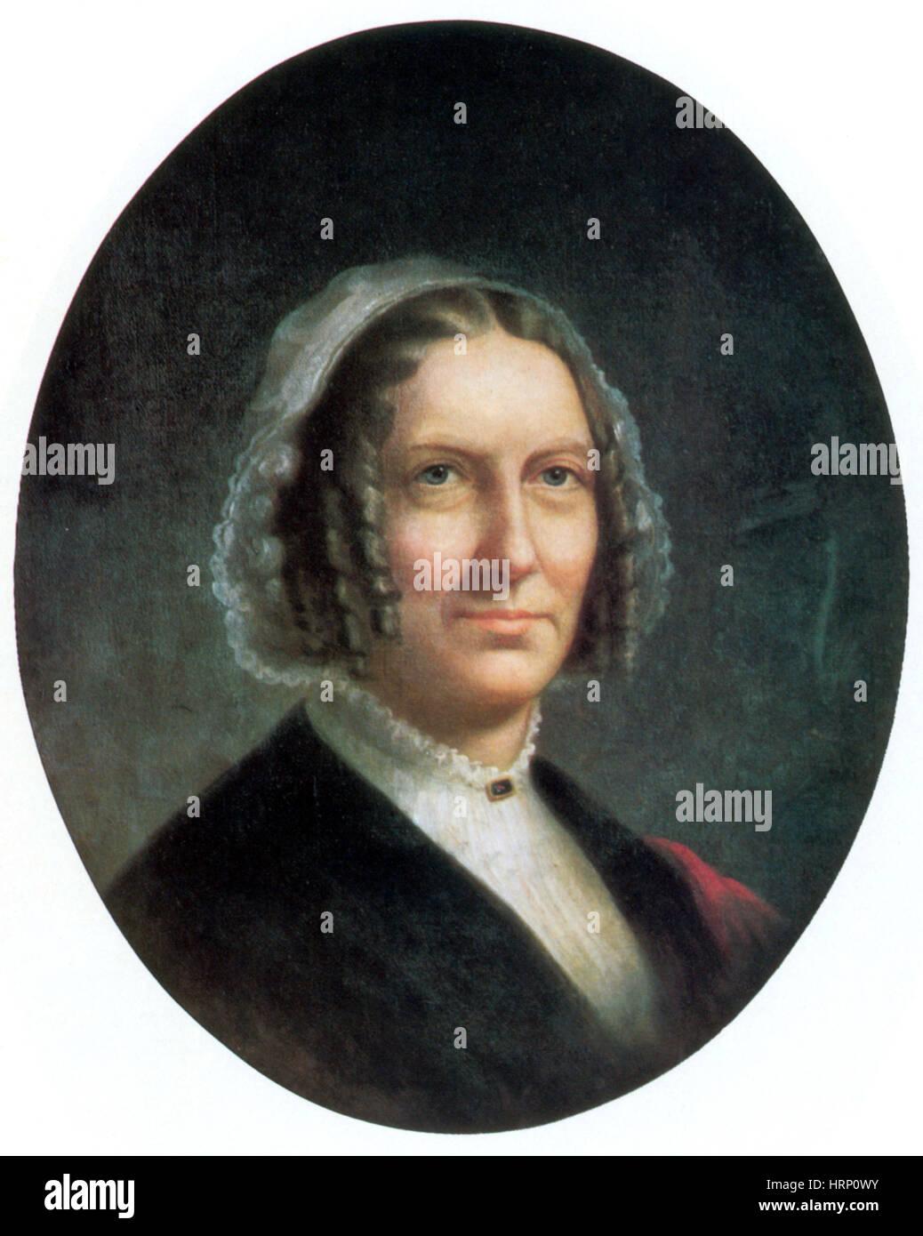 Abigail Fillmore, Primera Dama Imagen De Stock