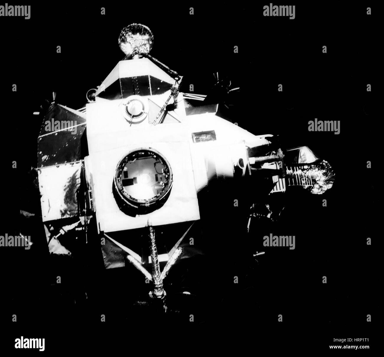 El Módulo Lunar Apolo 13 Imagen De Stock