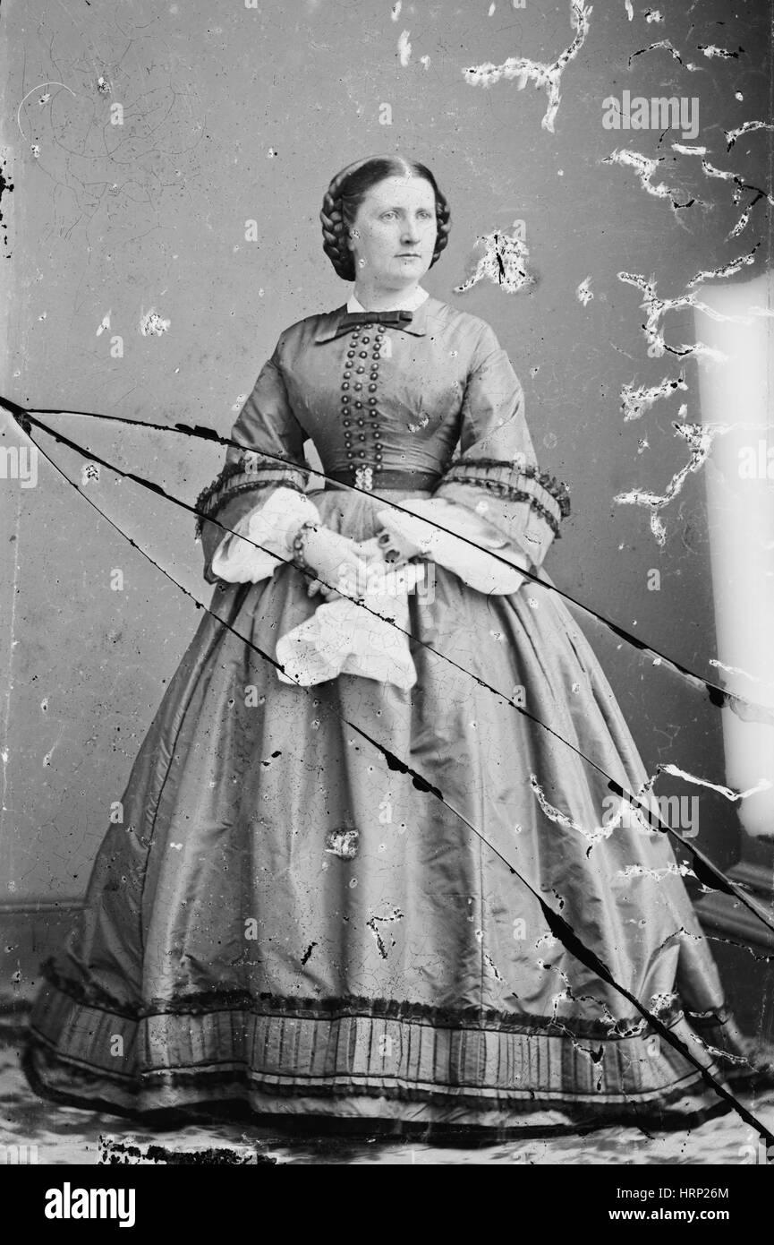 Harriet Lane, Primera Dama Imagen De Stock