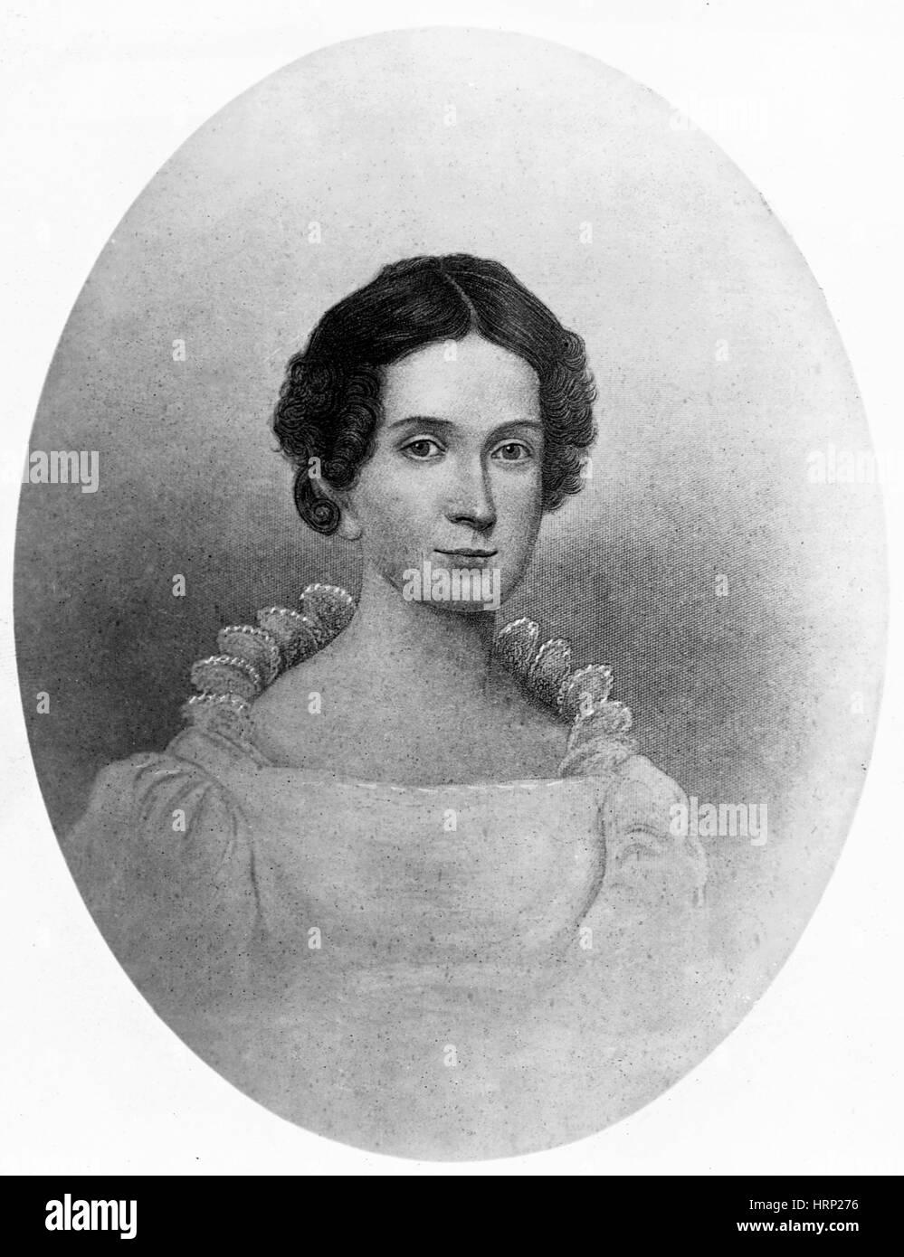Letitia Tyler, Primera Dama Imagen De Stock
