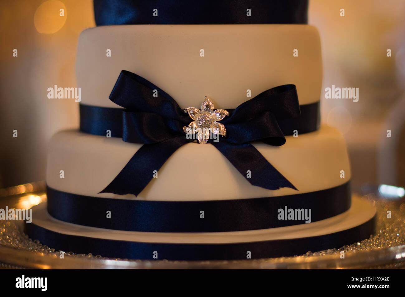 Pastel de boda Imagen De Stock