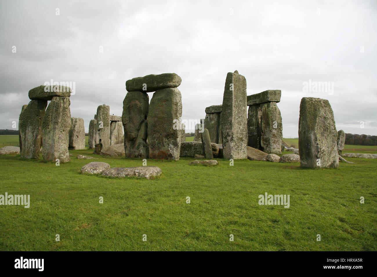 Stonehenge, Reino Unido Imagen De Stock