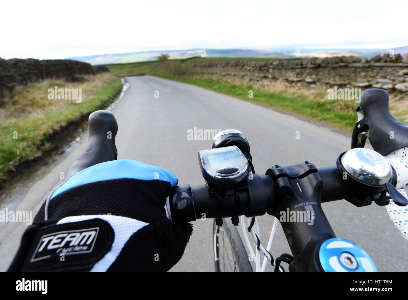 Motocicleta Manillar Carretera sujetado bajo Street-Azul