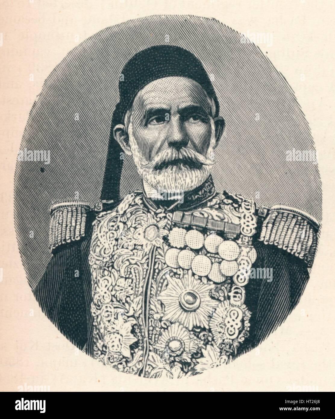 'Omar Pasha', C1906, (1907). Artista: Desconocido. Foto de stock