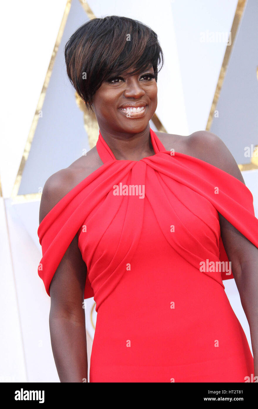 Hollywood, CA, EE.UU.. 26 Feb, 2017. 26 de febrero de 2017 - El Hollywood, California - Viola Davis. 89º Premios Imagen De Stock