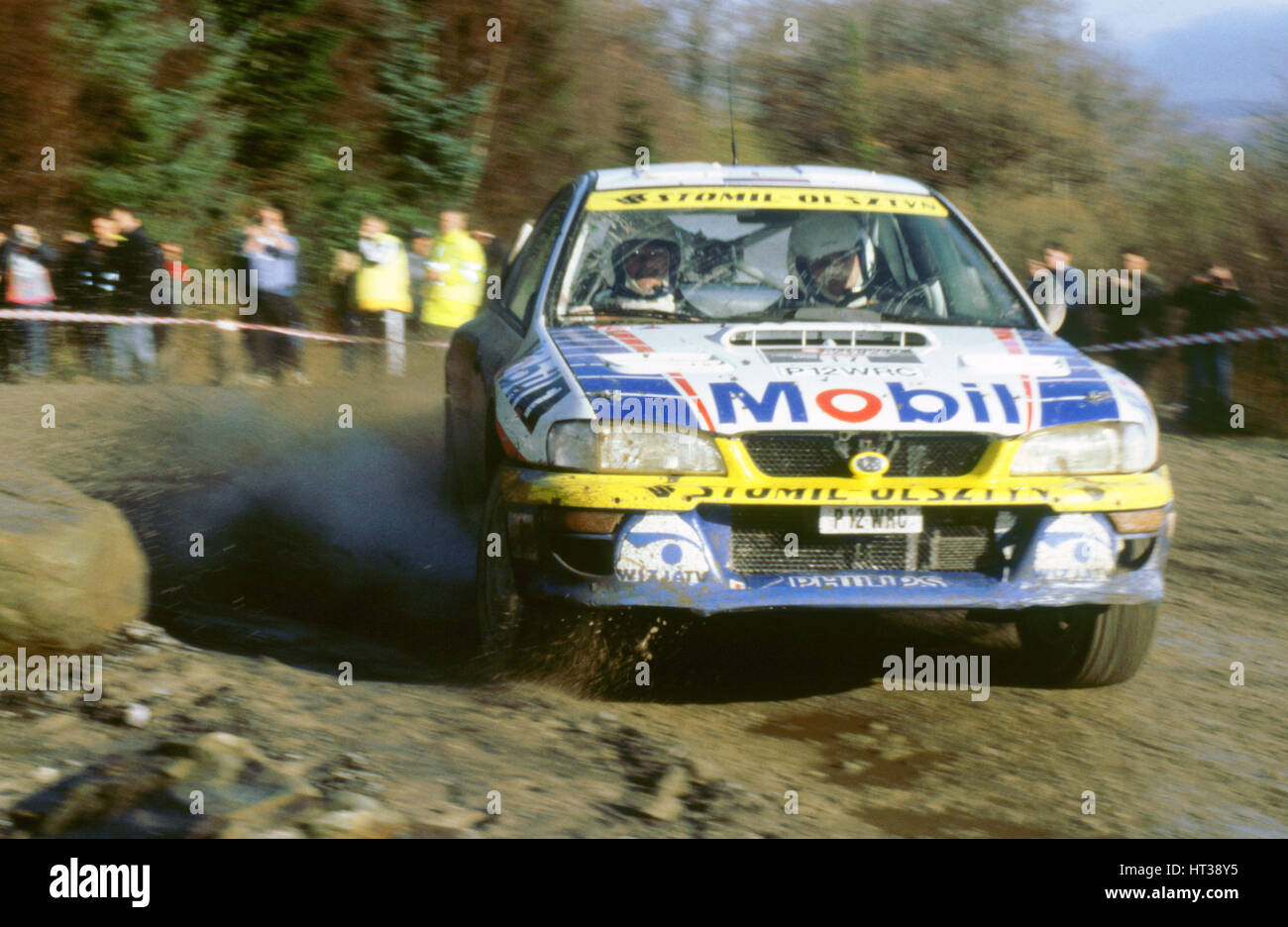 Subaru Impreza WRC 1998 network Q rally. Artista: Desconocido. Imagen De Stock