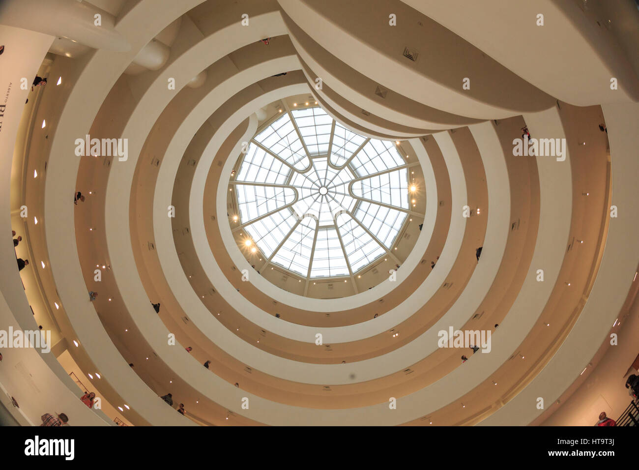 Ee.Uu., la ciudad de Nueva York, Manhattan, el Upper East Side, Museo Guggenheim Imagen De Stock