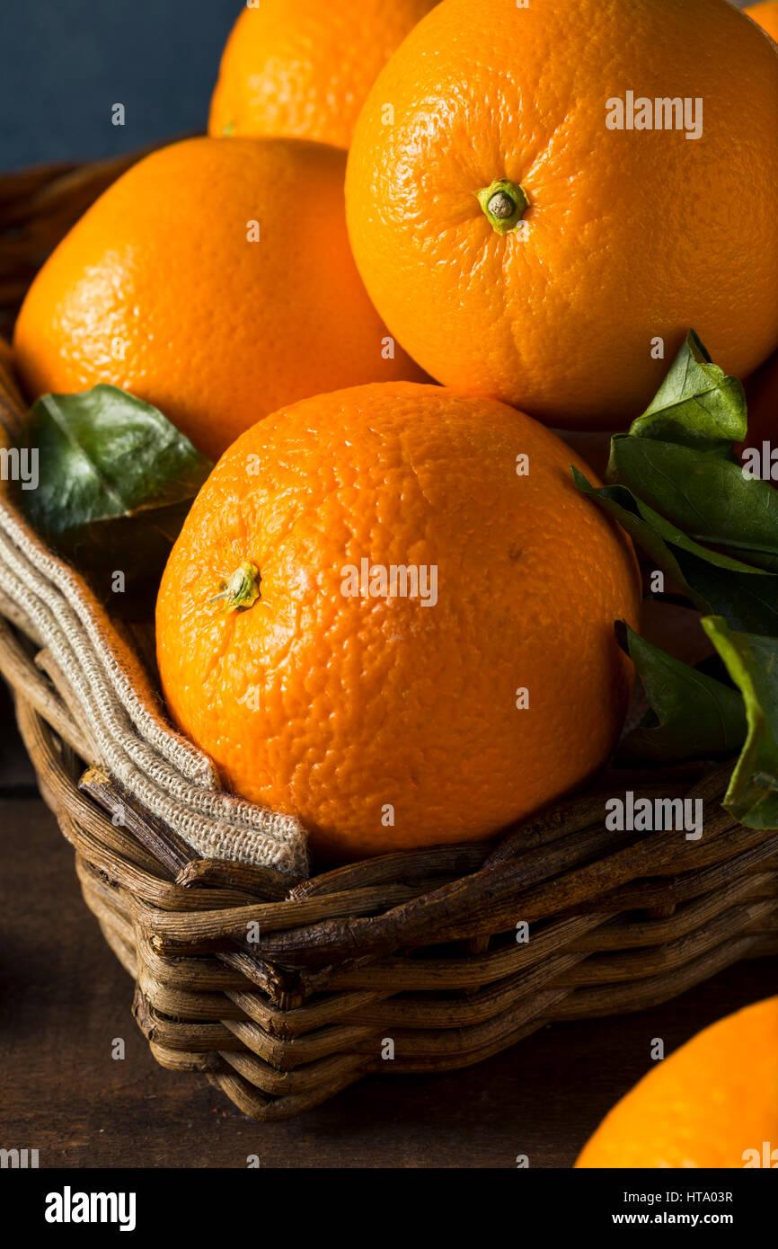 Materias orgánicas naranjas Cara listo para comer Imagen De Stock