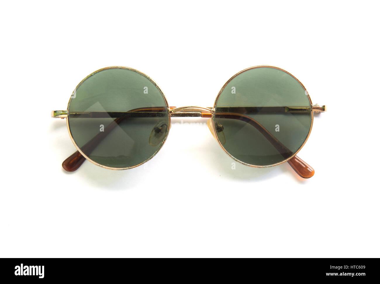 Round Black Framed Glasses Imágenes De Stock & Round Black Framed ...