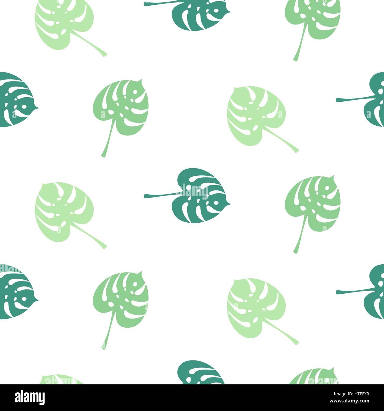 Monstera hojas simples planta tr pico verde patr n sin for Papel tapiz de patron para el pasillo