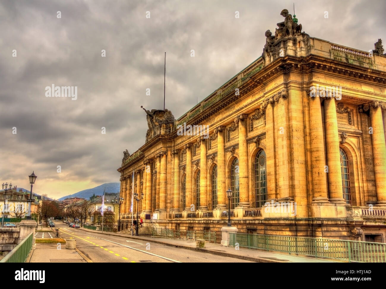 Musee d'Art et d'Histoire de Ginebra, Suiza. Foto de stock