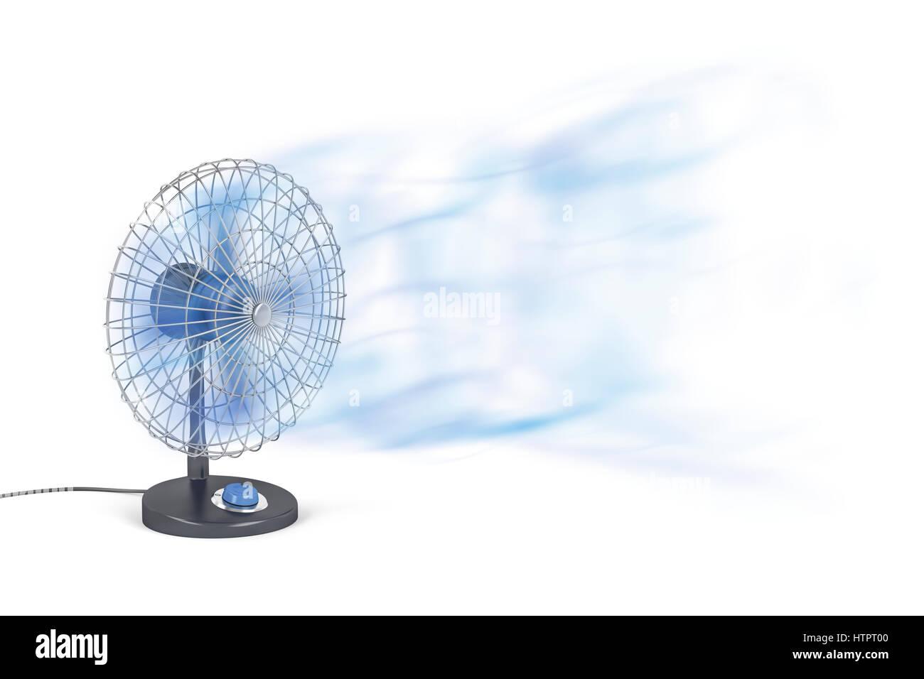 Ventilador Electrico De Soplado De Aire Frio Foto Imagen De Stock