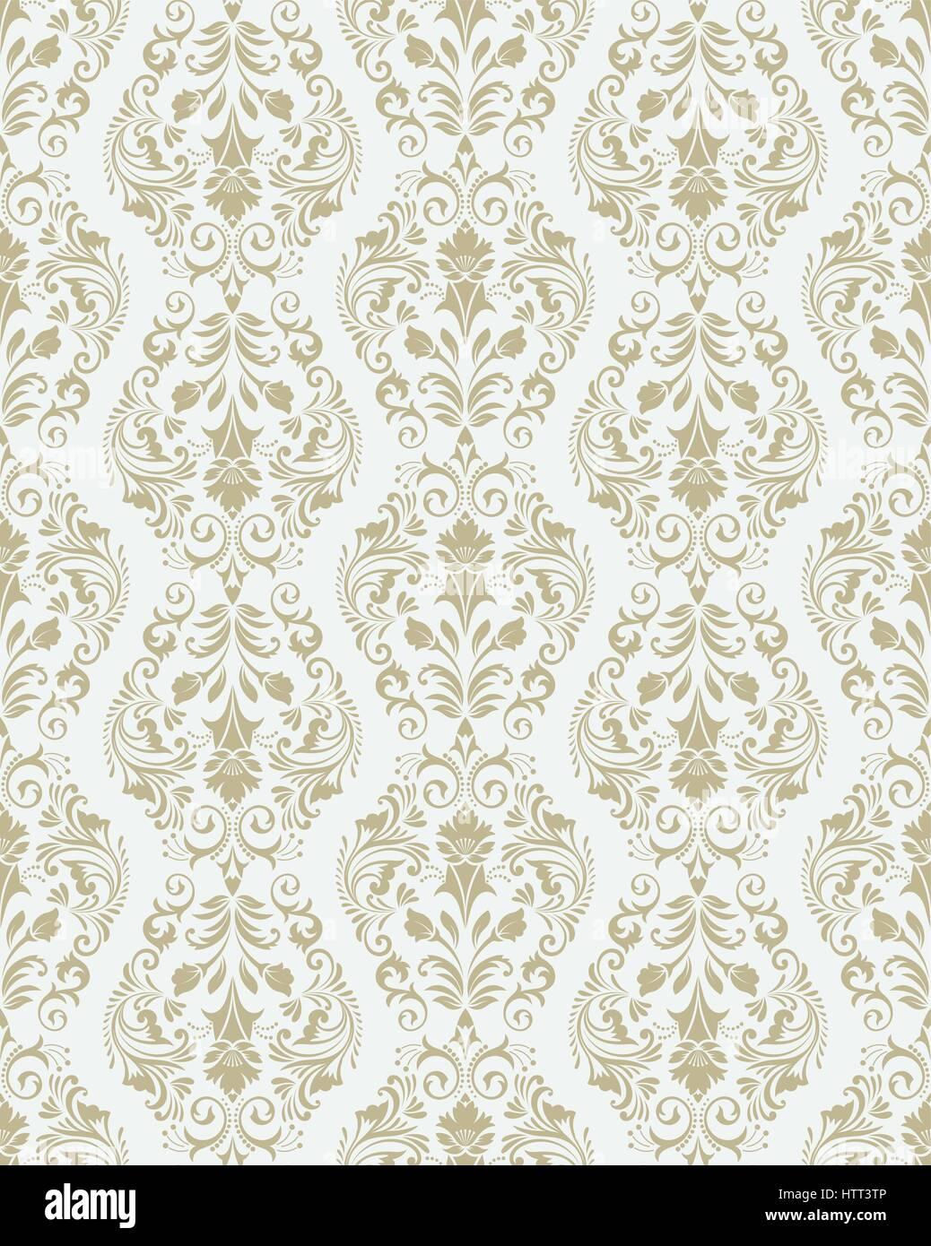 Vector patr n sin fisuras floral de lujo elegante textura for Papel tapiz de patron para el pasillo
