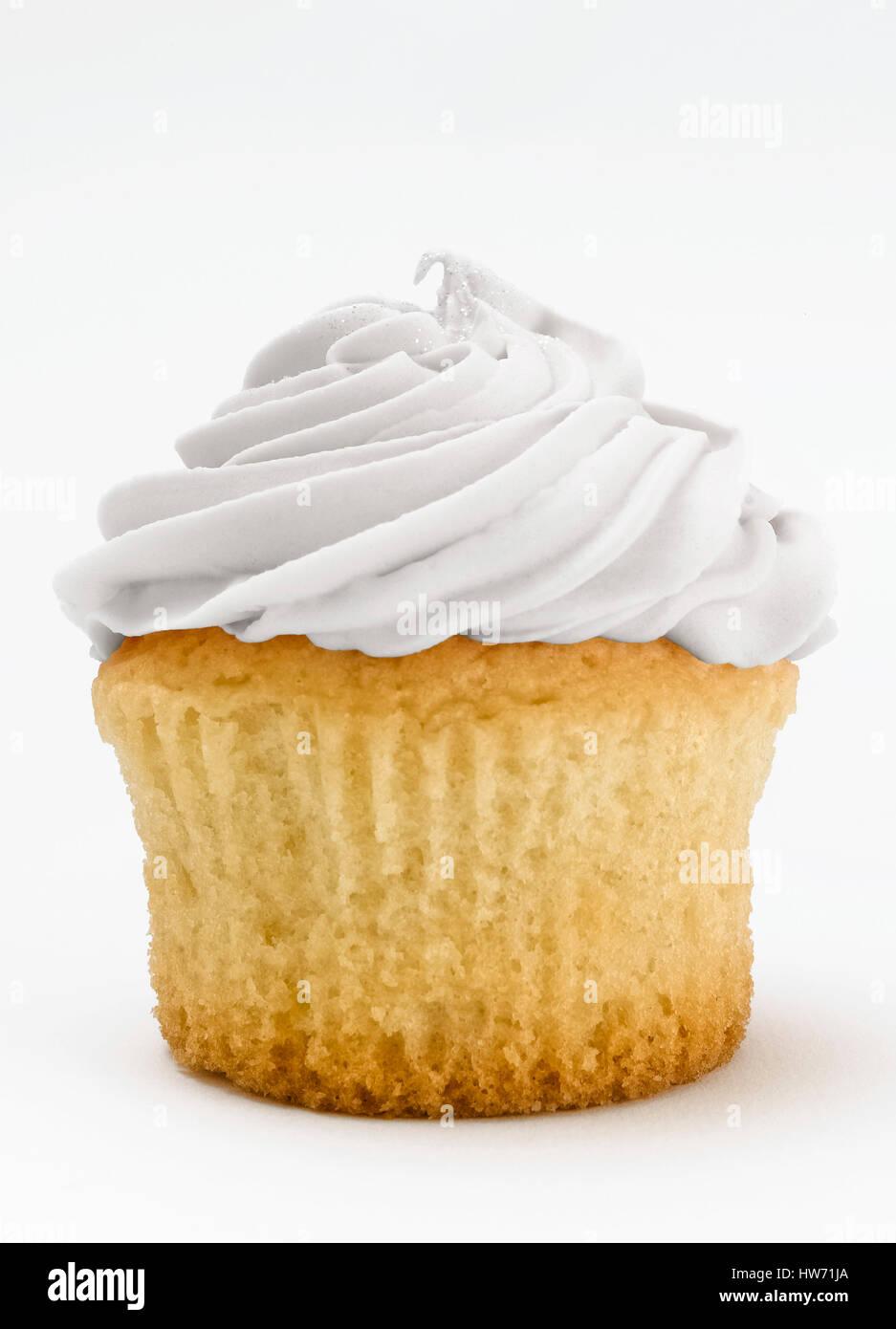 Cupcake aislado Foto de stock