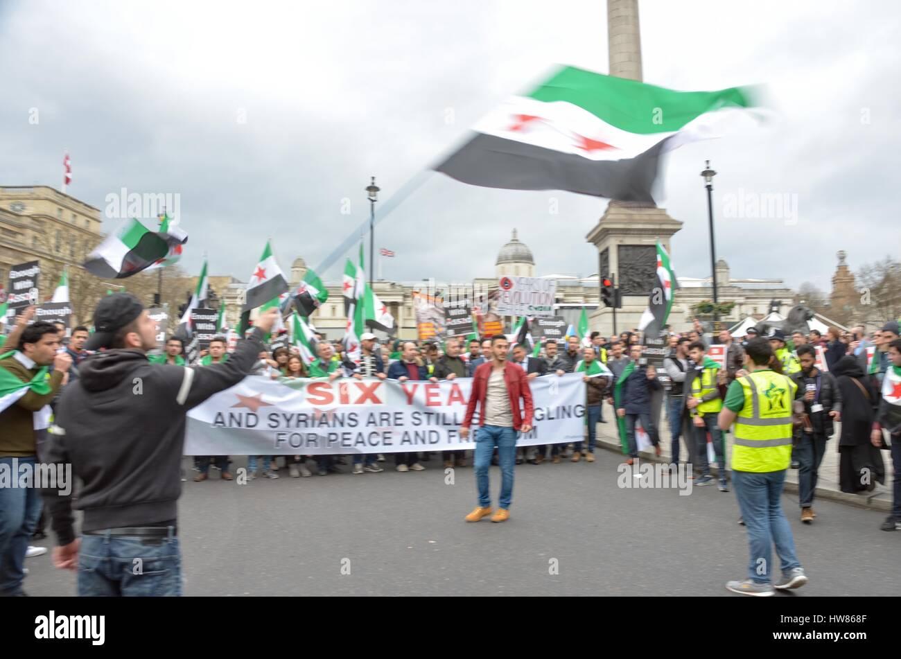 Londres, Reino Unido  18 de marzo, 2017  Los miembros de la