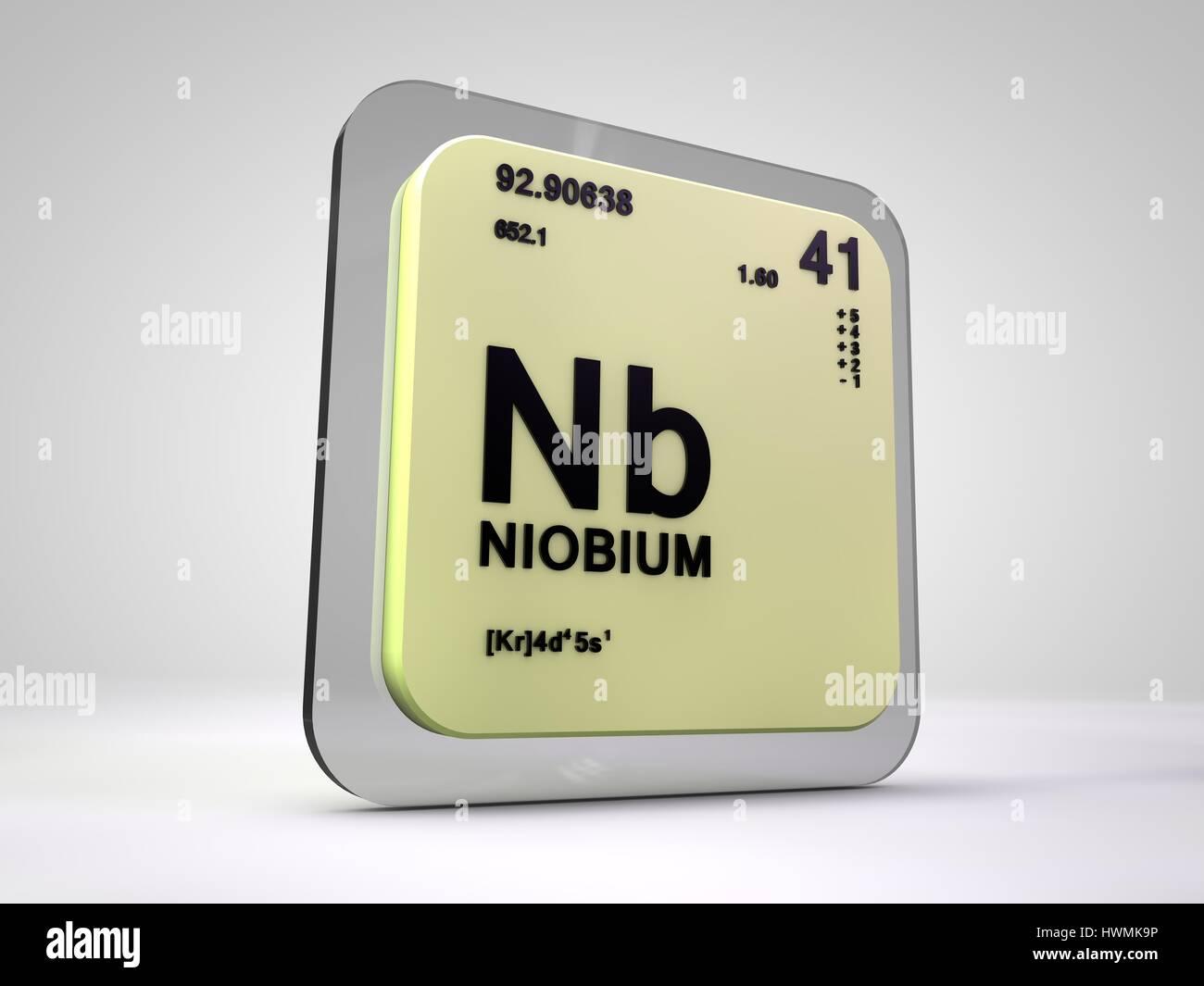 Niobio nb elemento qumico tabla peridica 3d render foto niobio nb elemento qumico tabla peridica 3d render urtaz Gallery