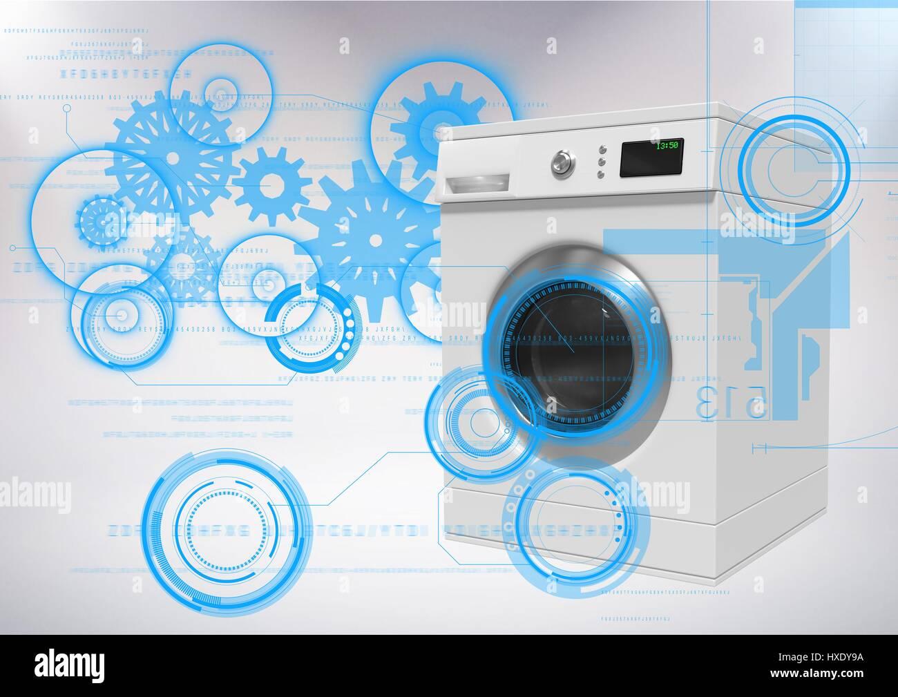 """No quiero una lavadora """"digital"""" quiero una como las de siempre, para meter la ropa y el detergente, darle al mando y que lave sola"""