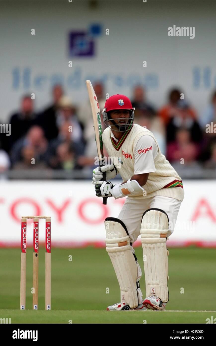 DAREN GANGA West Indies HEADINGLEY Leeds, Inglaterra, 26 de mayo de 2007 Imagen De Stock