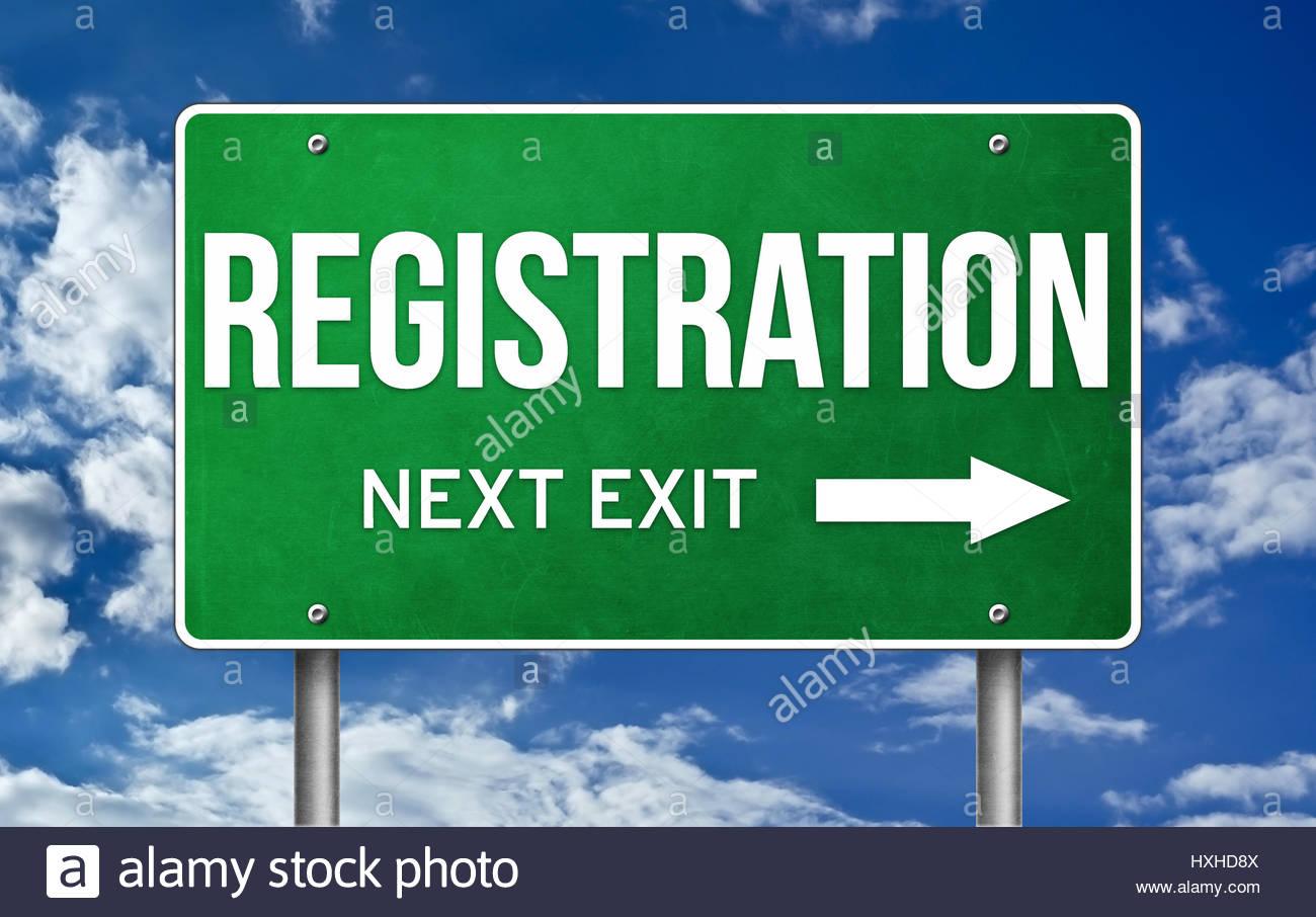 Tome la siguiente salida de registro Imagen De Stock