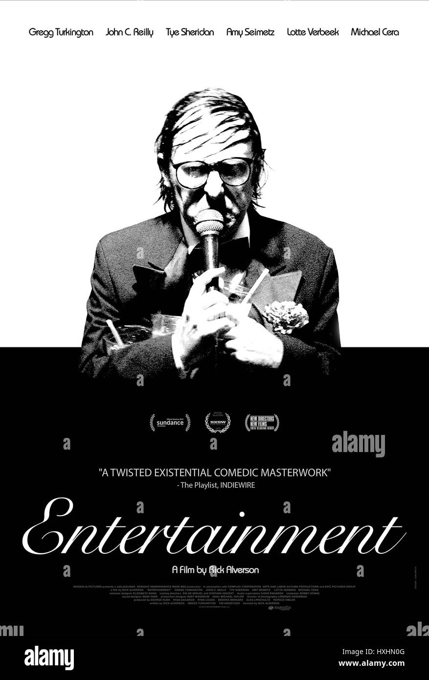 GREGG TURKINGTON POSTER Entertainment (2015) Imagen De Stock