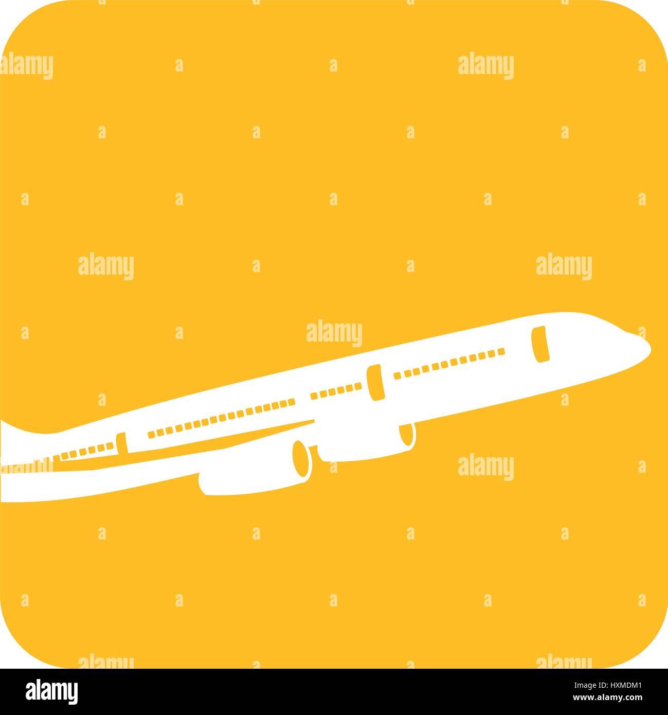 Imagen volar avión transporte Imagen De Stock