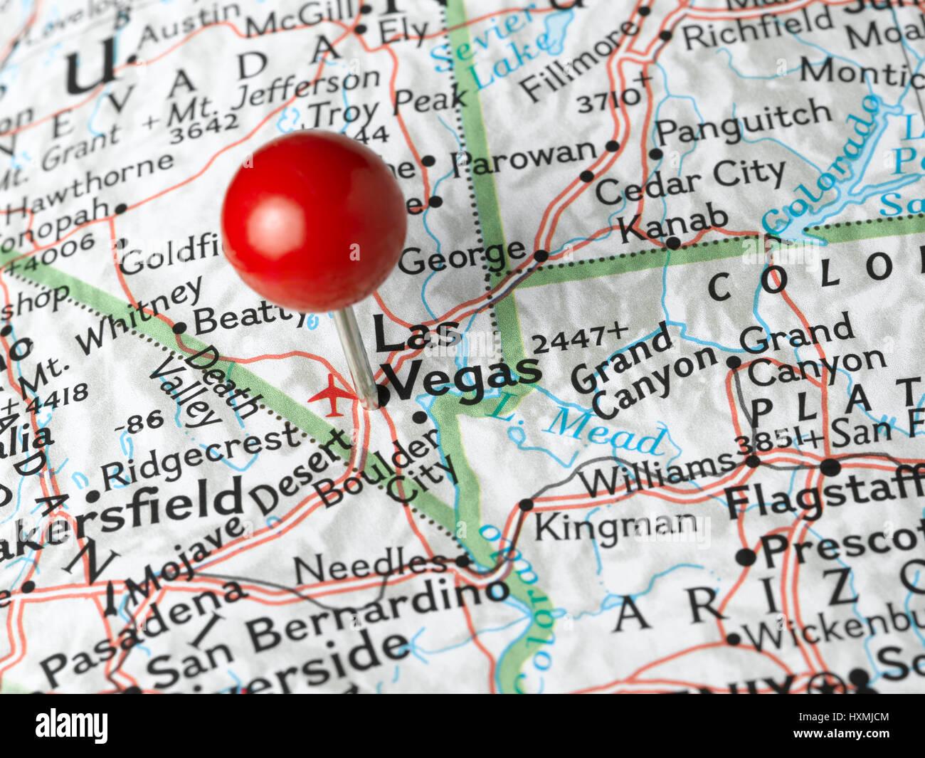 Resaltado de Las Vegas Foto de stock