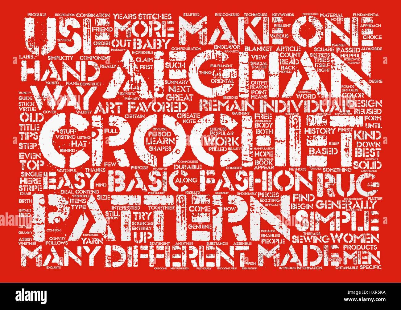 Simples patrones de ganchillo afganas siguen siendo la mejor opción ...