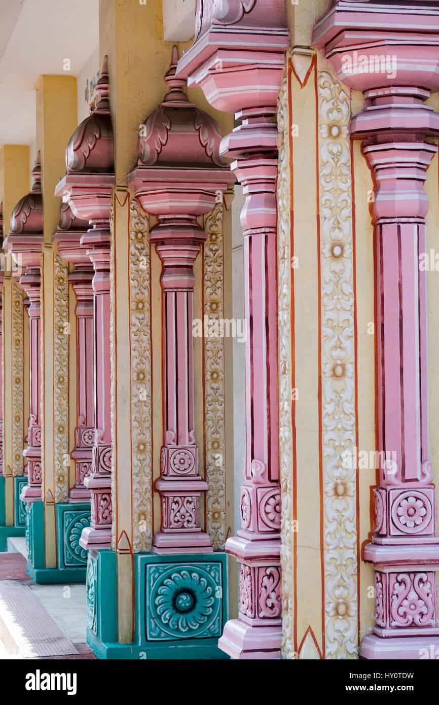 Templo hindú, las Cuevas Batu, Kuala Lumpur, Malasia Imagen De Stock