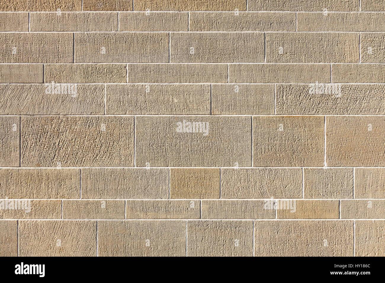Patrón de una pared exterior en formato horizontal Imagen De Stock