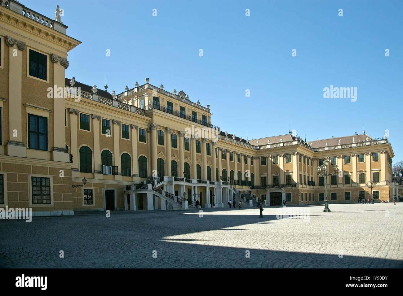 Palacio de Schonbrunn, Viena. Imagen De Stock