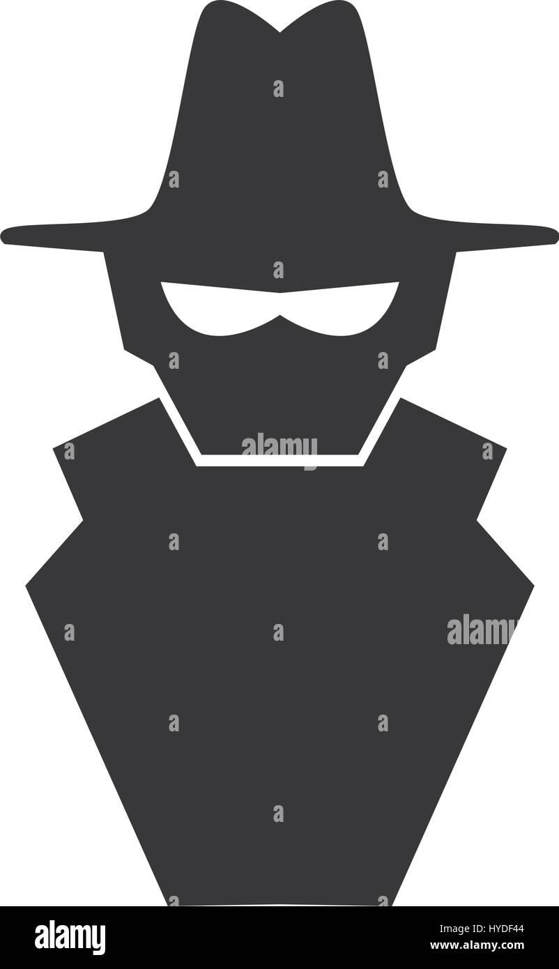 Símbolo de spyware malware Imagen De Stock