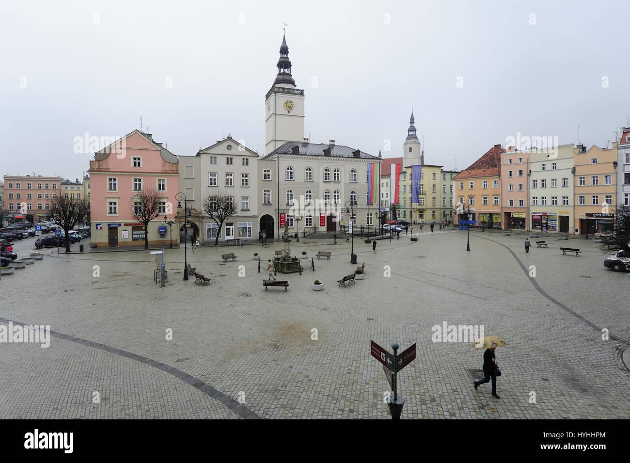 Achitecture, Arquitectura, Ciudad dolnoslaski, Dolnoslaskie, dzierzoniow, Europa, hall, Jan dzierzon, menor, menor Imagen De Stock