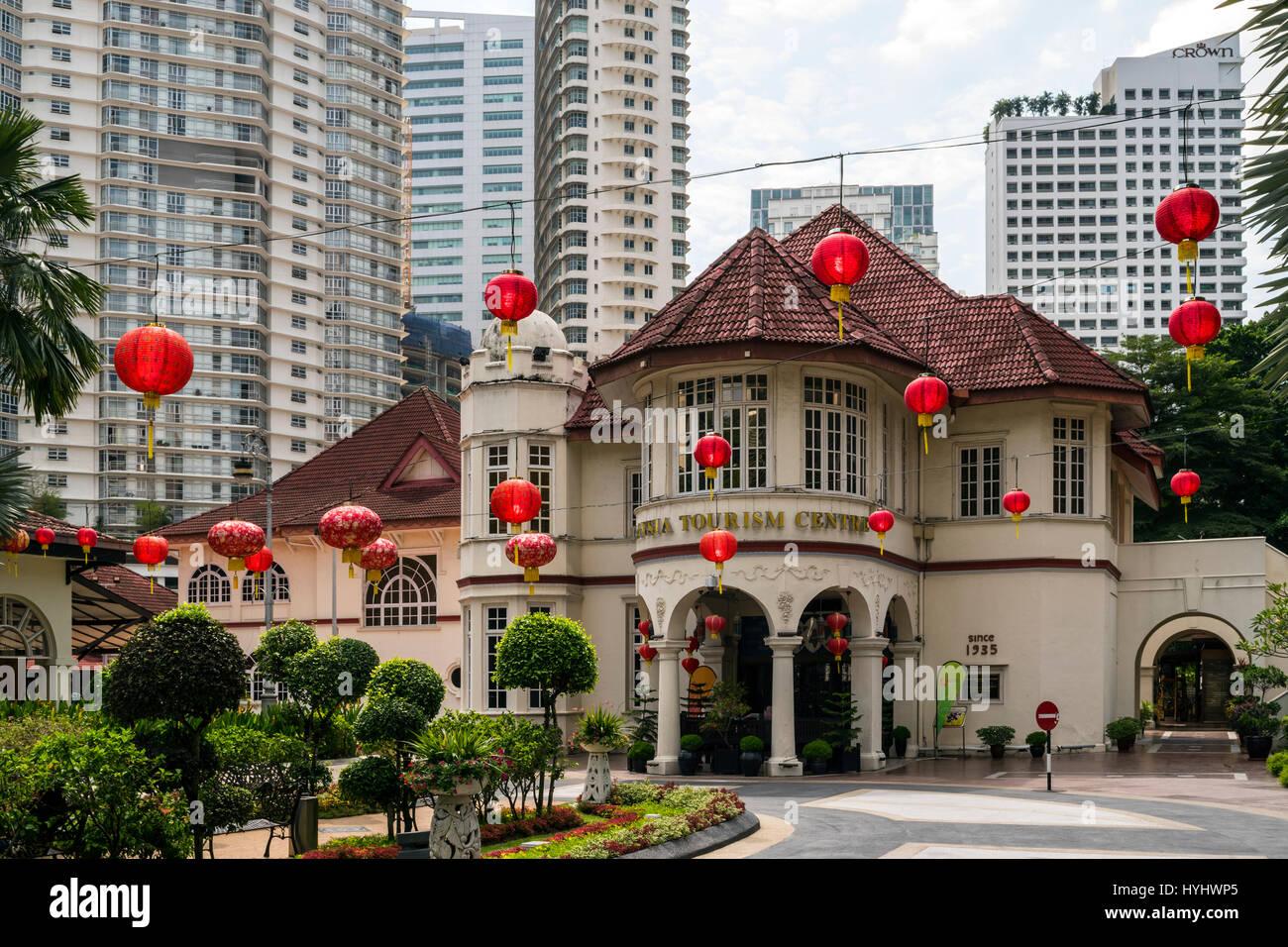 Centro de Turismo de Malasia, Kuala Lumpur, Malasia Imagen De Stock