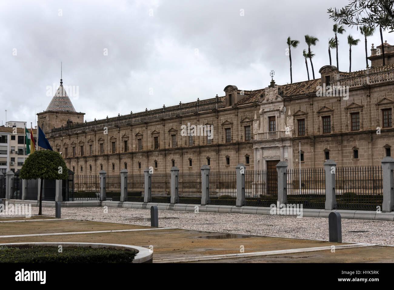 La sede del parlamento andaluz en la provincia de sevilla for Sede del parlamento