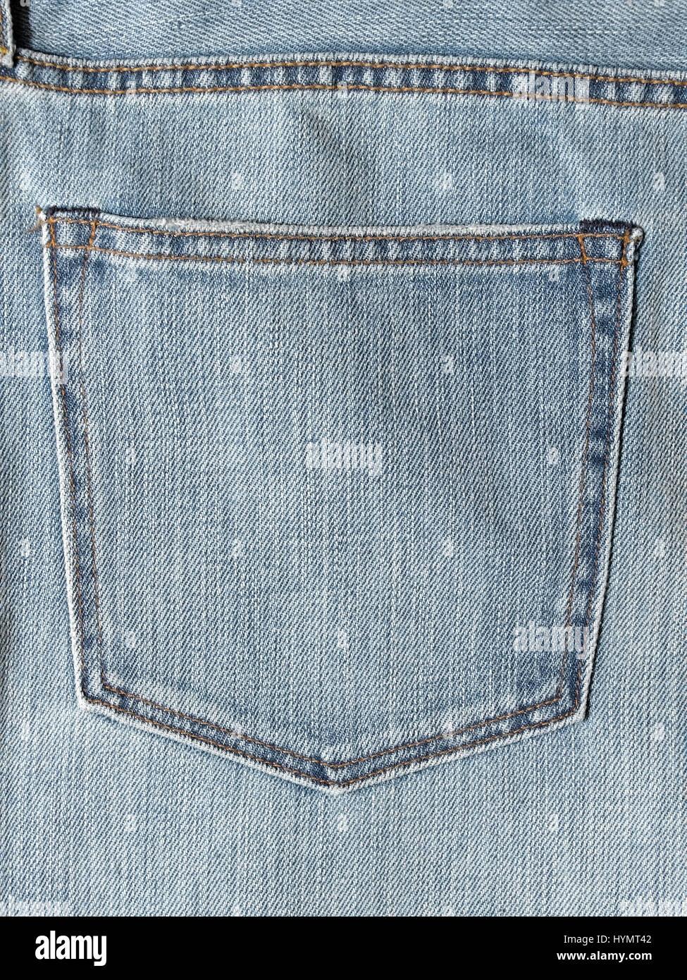 Pantalones Vaqueros Pocket recto Foto de stock