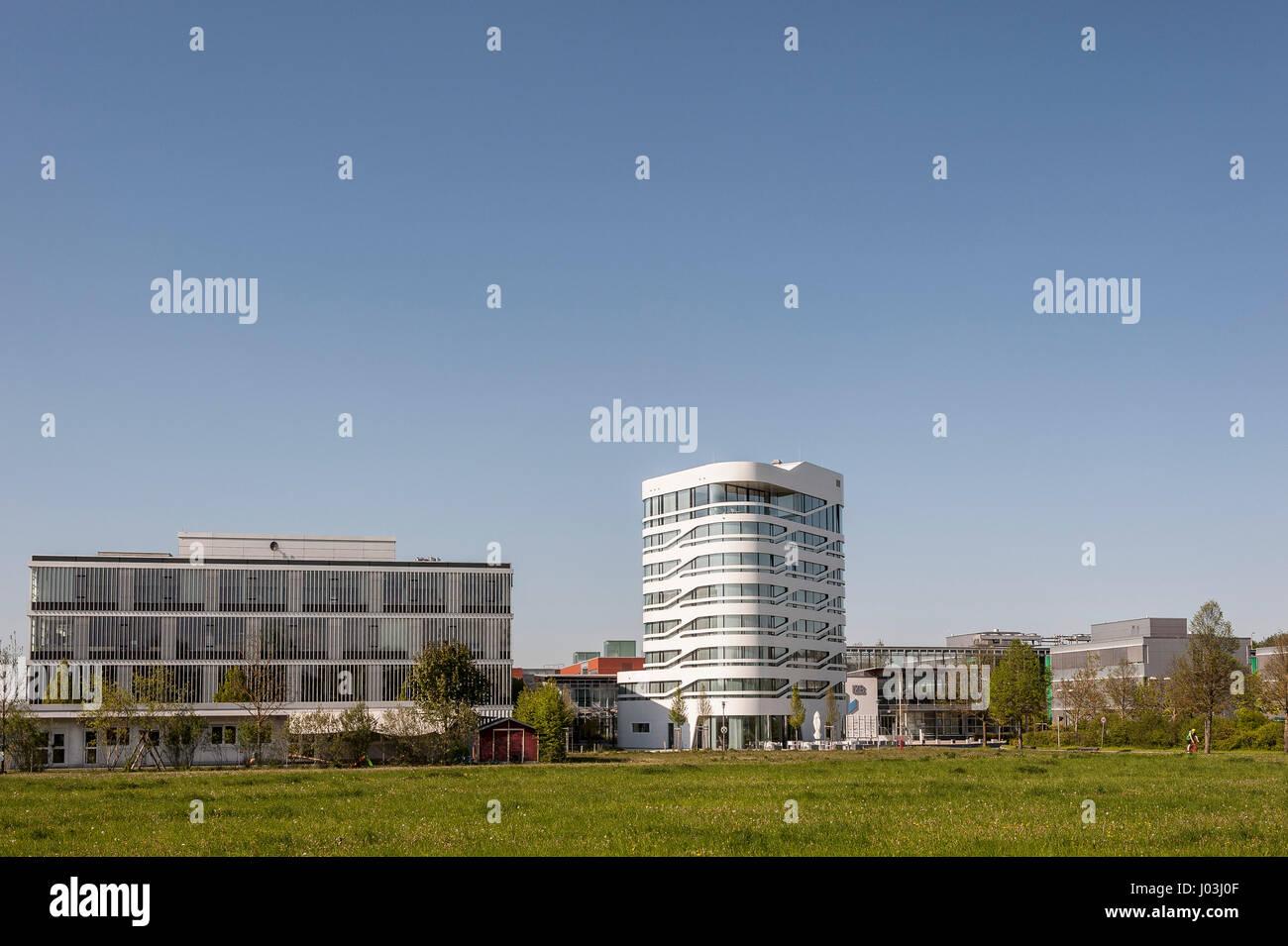 Centro de Innovación para la biotecnología IZB, Martinsried, cerca de Munich, Baviera, Alemania Imagen De Stock