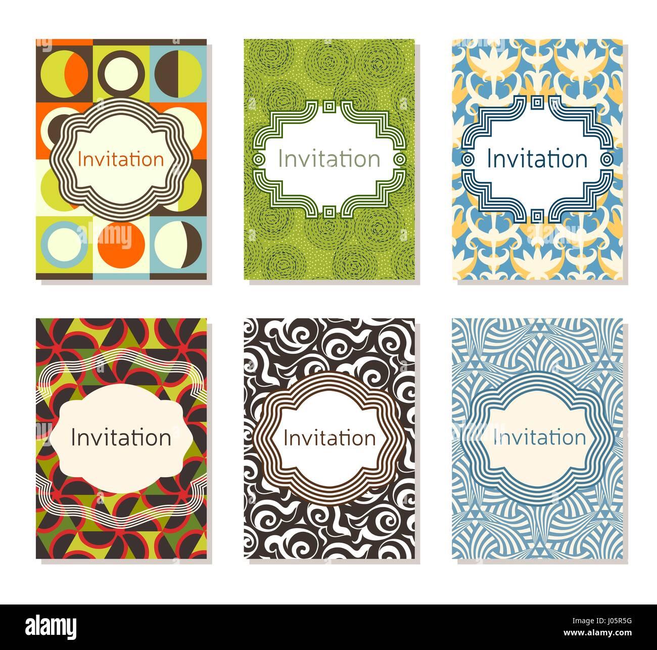 Tarjeta De Invitación A Una Plantilla De Diseño Diseño