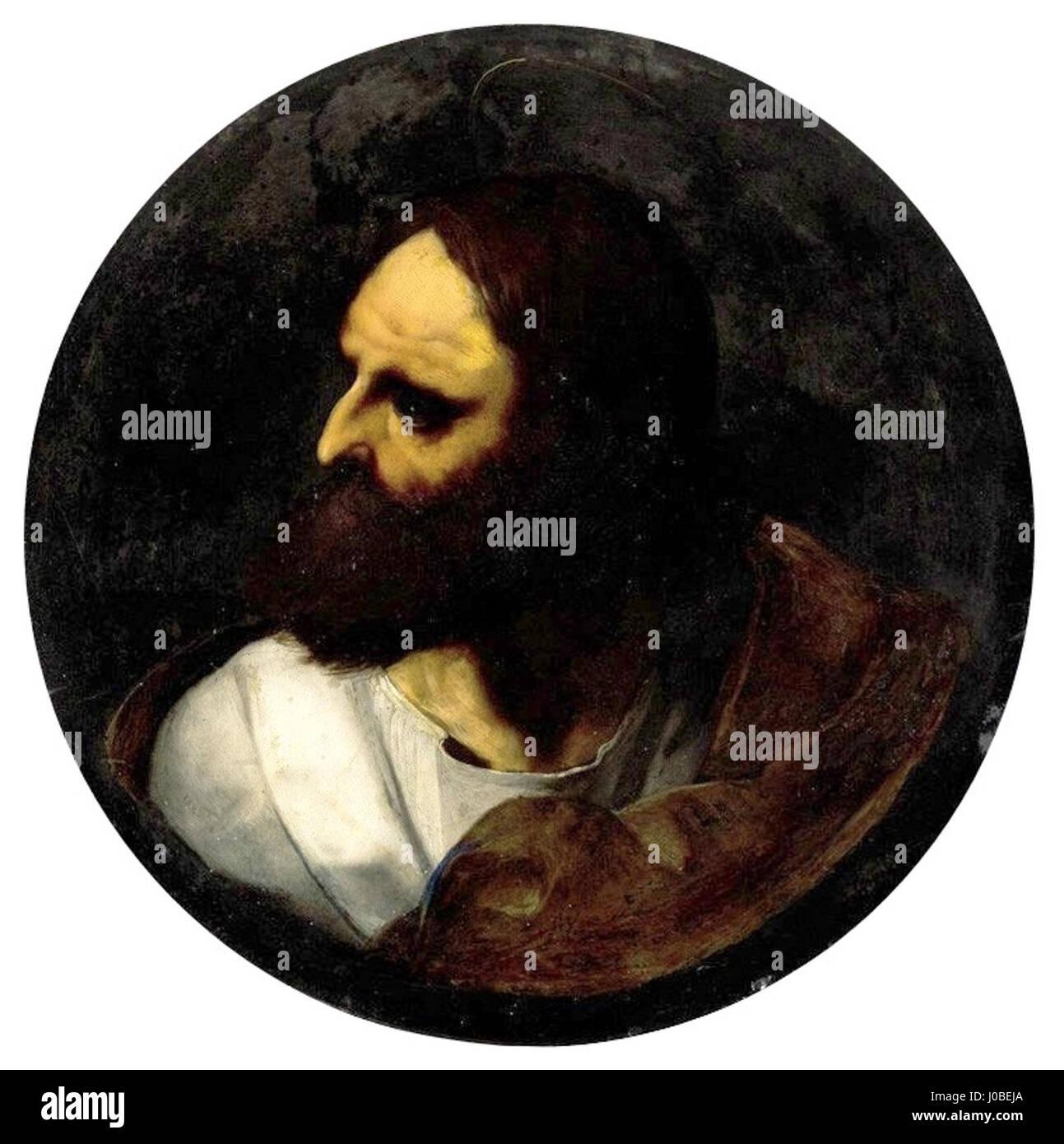 Bernardino Luini - Apóstolo (1) Foto de stock