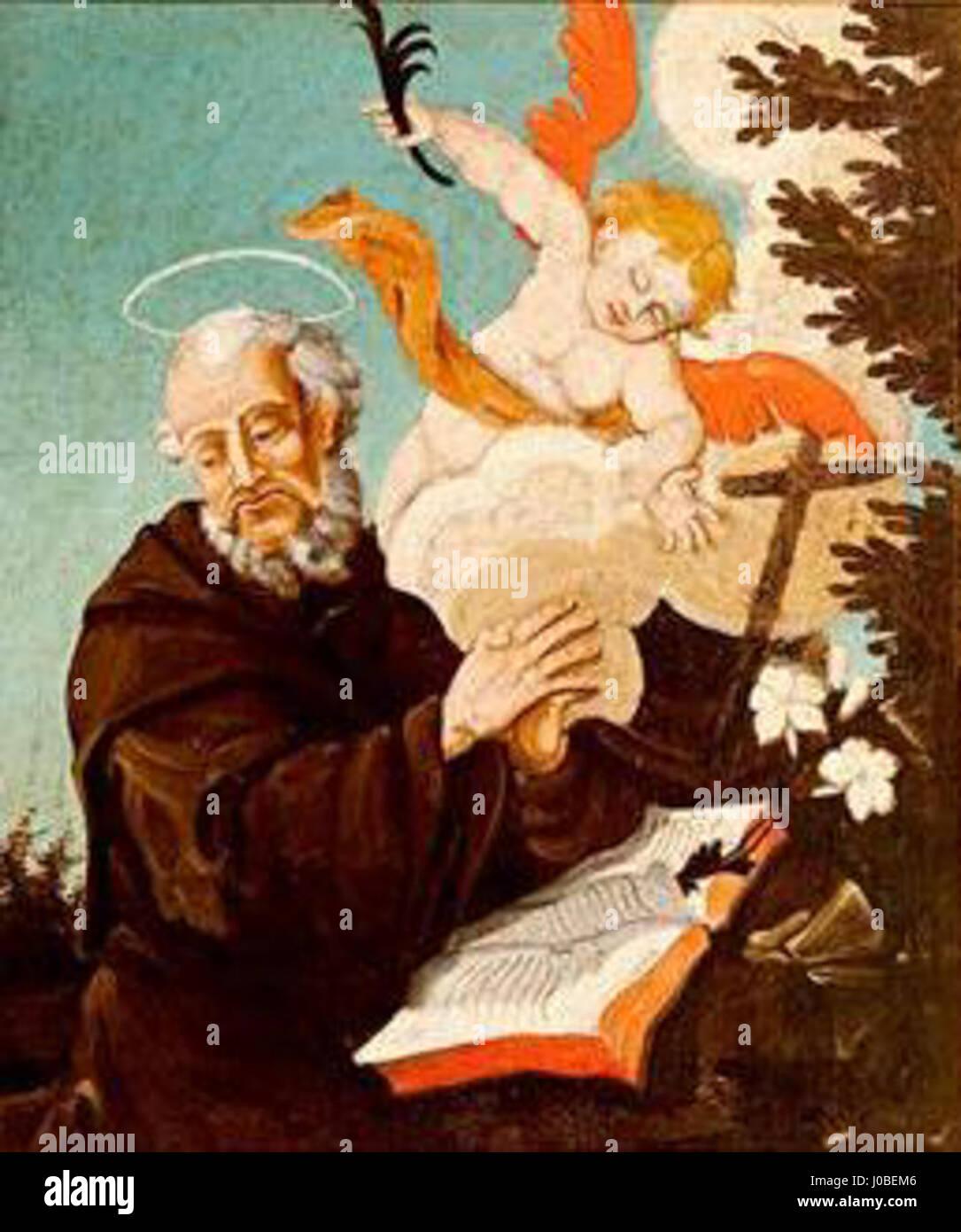 Mestre Ataíde - São Nicolau Tolentino Foto de stock