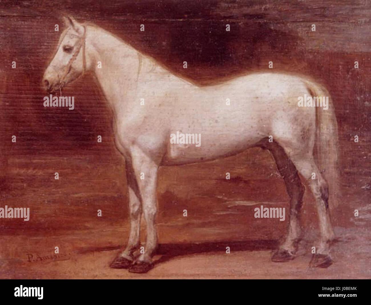Pedro Américo - Cavalo Foto de stock