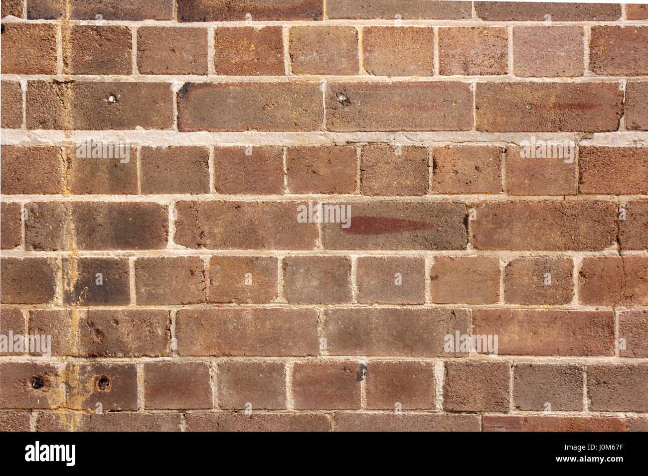 Pared de ladrillo Vintage ideal para fondos y texturas Imagen De Stock
