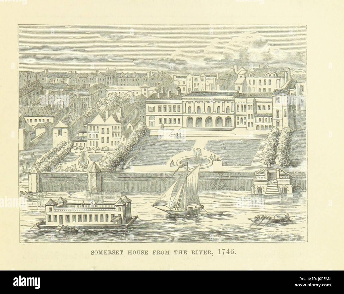 """Imagen tomada de la página 83 de """"Haunted Londres ... Ilustrado por F. W. Fairholt' Imagen De Stock"""