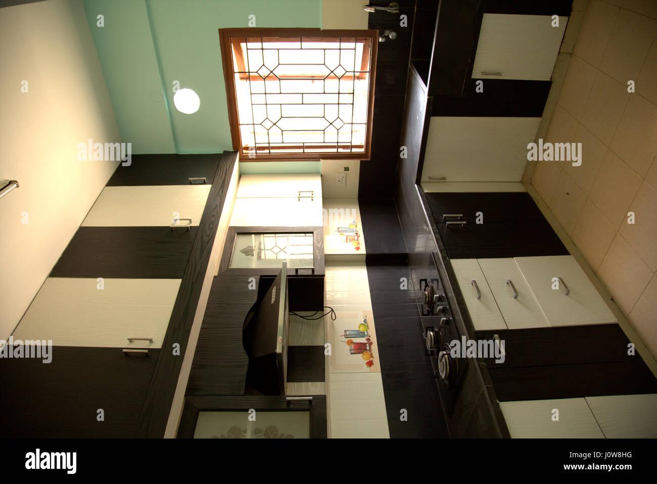 Cocina de alta Sociedad Inmobiliaria Venta Foto & Imagen De Stock ...