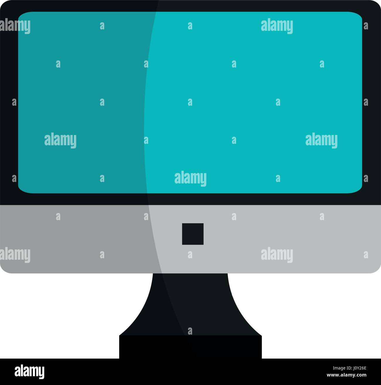 Icono de dispositivo informático Imagen De Stock