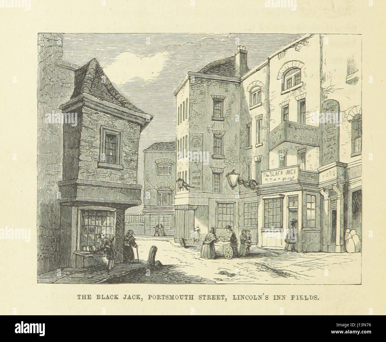 Haunted Londres ... Ilustrado por F. W. Fairholt Imagen De Stock